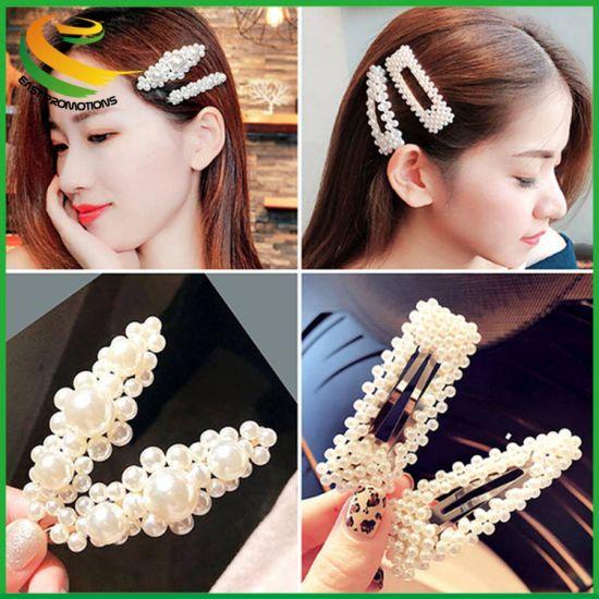 Hair Accessories Pearl Hair Clips Hair Barrettes Hairpins Acrylic Hairgrip