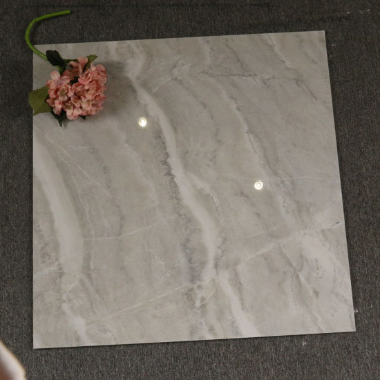 China Grey Polished Porcelain Floor Tiles 80x80cm Price Ceramic