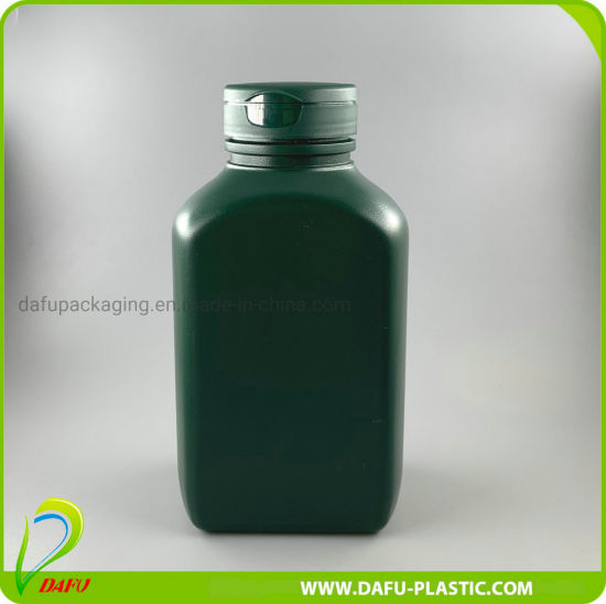 500ml Medical Products HDPE Plastic Bottle with Flip Top Cap