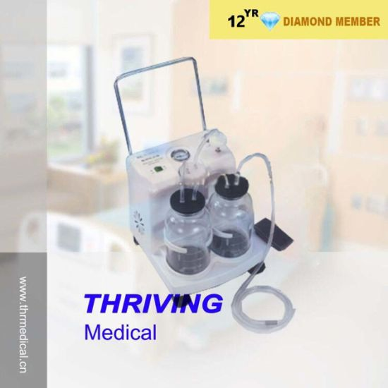 Medical Electric Suction Apparatus From Chinese Professional Manufacturer (THR-SA-23D) pictures & photos