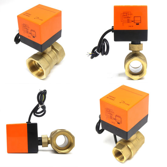 China 2 Way Dn20 Automatic Electric Water Shut off Valve - China Electric  Valve, Brass Ball Valve