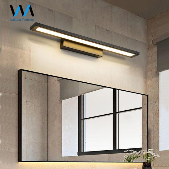 Aluminium Mirror Light Toilet Bathroom Led Wall Lamp China Wall