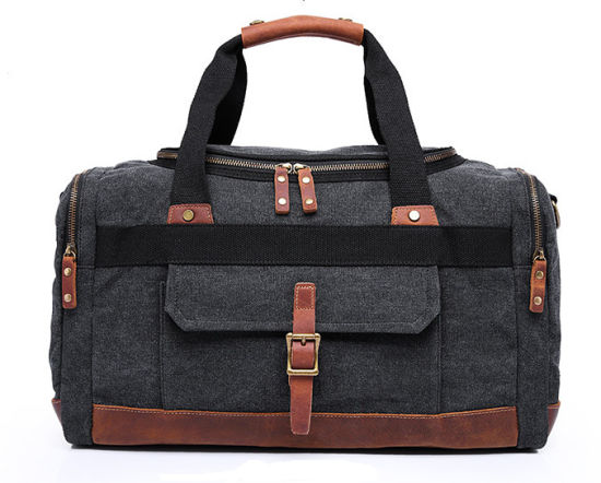16177e3a54 Black X1 New Travel Large Capacity Handbag Single Shoulder Pack Functional Duffel  Bag Leisure Men′s Canvas Man Tote Bag