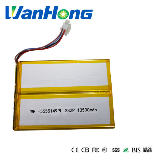 Large-Capacity Lithium Battery 5555149pl 2s2p 13500mAh Rechargeable Lithium Ion Polymer Li-ion Battery Pack for Tablet PC