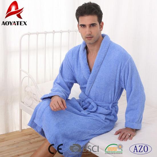 China Four Seasons 100% Cotton Terrycloth Hotel Bathrobe - China ... 4d0e222ff