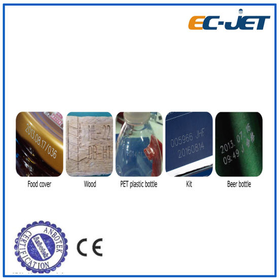 Automatic Continuous Inkjet Printer Coding Machine for Vitamin Bottle (EC-JET500) pictures & photos