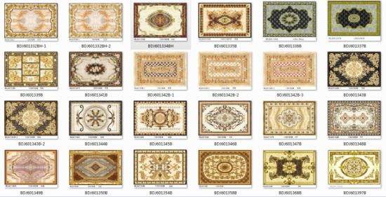 Ceramic Glazed Carpet Floor Tiles with Competitive Price (BDJ60056) pictures & photos