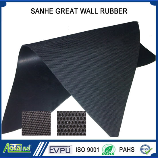 4dcb2596cea Fabric Impressed EPDM/Neoprene/Natural/Nitrile/Butyl Rubber Sheet Cloth  Marks Floor
