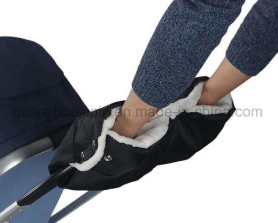 OEM Winter Waterproof Oxford Baby Stroller Warm Gloves