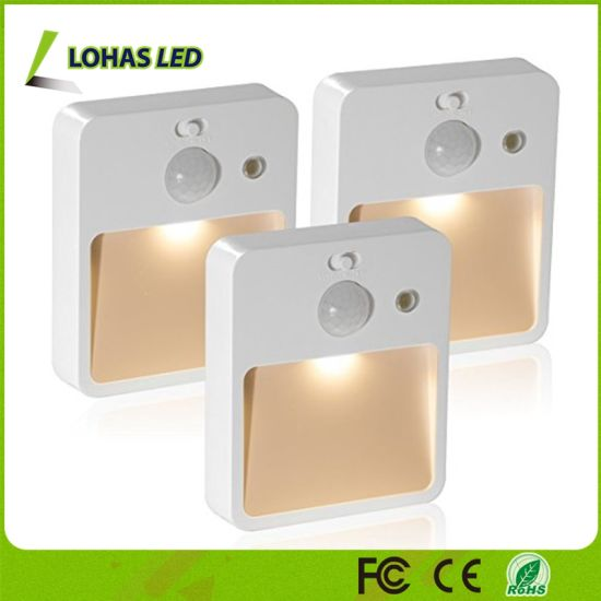 0.5W Motion Sensor Cabinet Lights USB Rechargeable LED Night Lights for Hallway, Closet, Bedroom pictures & photos