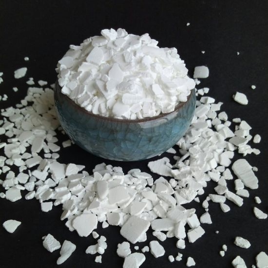 High Quality 99% Pure Calcium Chloride with Flake