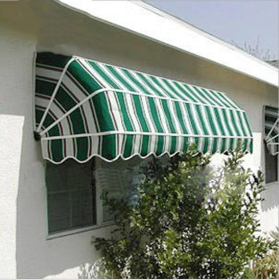 Aluminum European-Styles Sp Awnings Motorsized Remote/ Manual Control