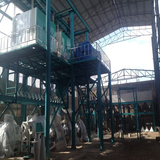 Maize Flour Making Mill Machine for Uganda pictures & photos