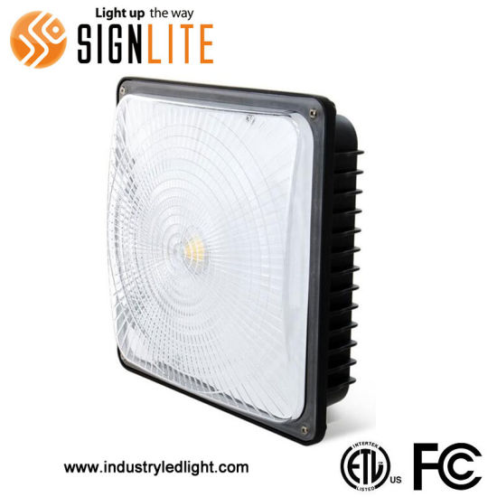LED Gas Station Recessed Light 70W LED Canopy Light IP65 Waterproof Best Garage Shop Lights