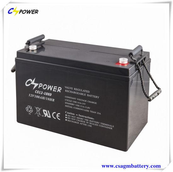 100ah Battery Sealed Lead Acid AGM Batteries for UPS/EPS/Solar/ Telecom