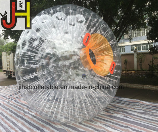 Inflatable Human Hamster Glass Roller Zorb Ball for Ramp Zorbing pictures & photos