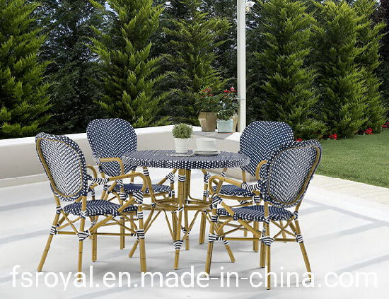 Bistro French Rattan Chair Outdoor, French Outdoor Furniture