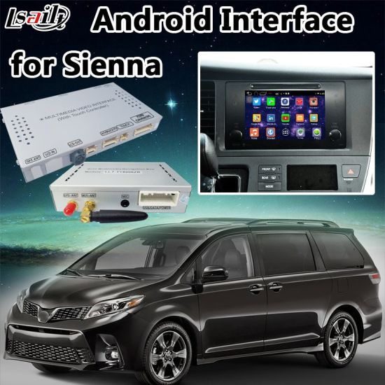 China Android 6 0 Car GPS Navigator for Sienna Support