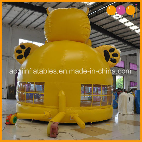 Toys Games Tiger Inflatable Jumper Moonwalk Bouncer for Promotion (AQ350) pictures & photos