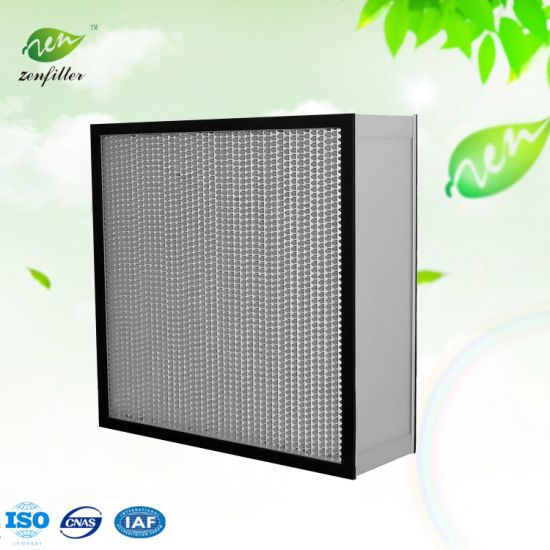 Separator HEPA Air Filter Deep-Pleated HEPA Air Filter