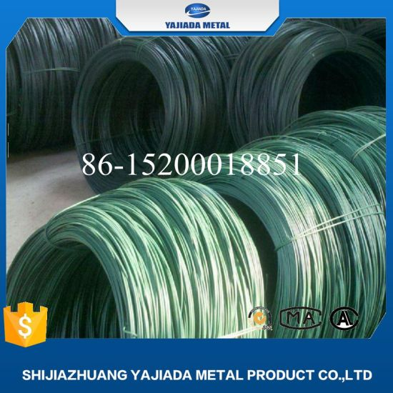 China PVC Coated Low Carbon Steel Wire for Wire Netting Factory ...