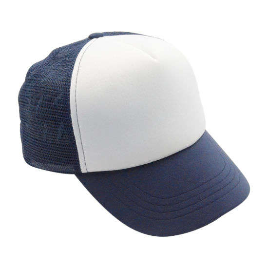 Custom Blue/White Kids Baby Fashion Snapback Baseball Cap Children Trucker Hats pictures & photos