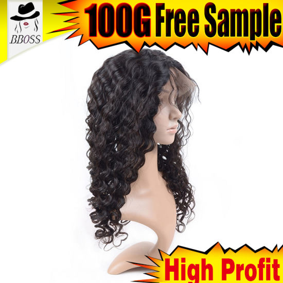 Hair Products of Brazilian Silk Front Lace Wig pictures & photos