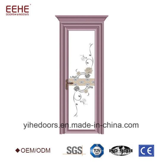 China Office Aluminium Swing Door Tempered Glass China Glass Door