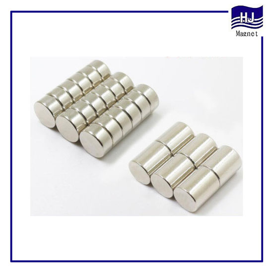 Different Size Strong Cylinder Wafer Neodymium Permanent Magnet