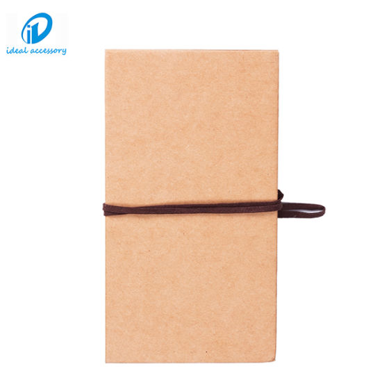 China 4x6 Inch Hand Made Hardcover Kraft Paper Diy Scrapbooks