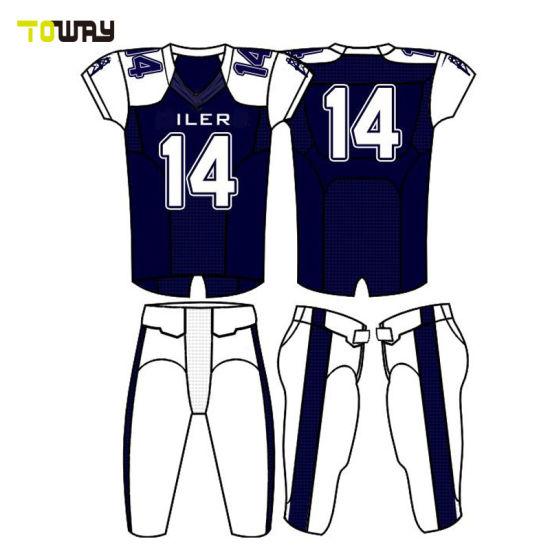 e5388fc4 China Custom Sublimation Fashion Flag Football Jerseys Wholesale ...
