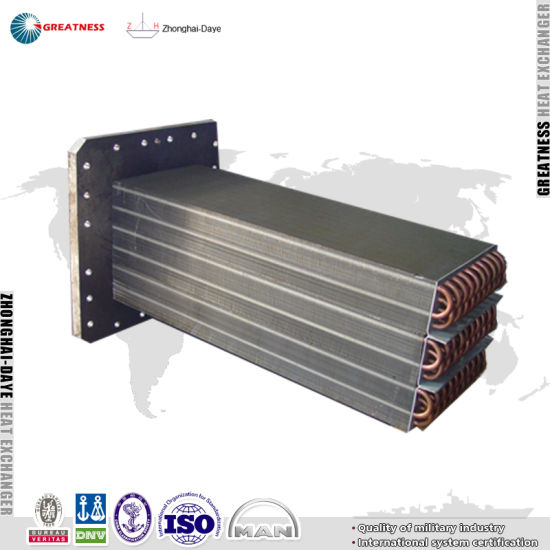 Design Stainless Steel Evaporator Coil For Spiral Tunnel Manufacturer Empty Cooler