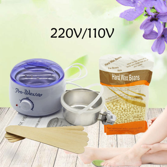 China Hair Removal Wax Warmer Heater Pot Kit With Wax Beans China Wax Warmer Heater And Wax Warmer Machine Price