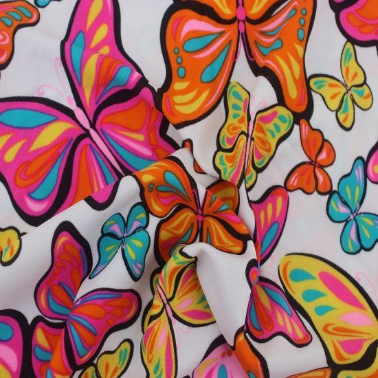Digital Printed Rayon Spandex Fabric