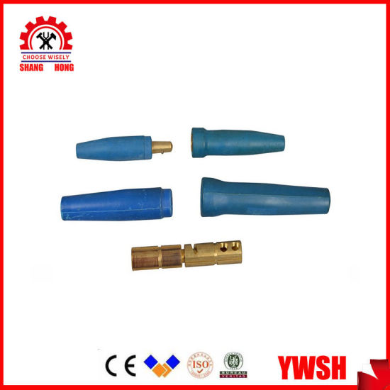 Japanese British Dkj DIN Dkl Type Welding Cable Connector