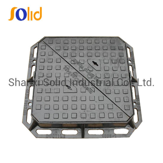 En124 D400 Double Triangular Manhole Cover