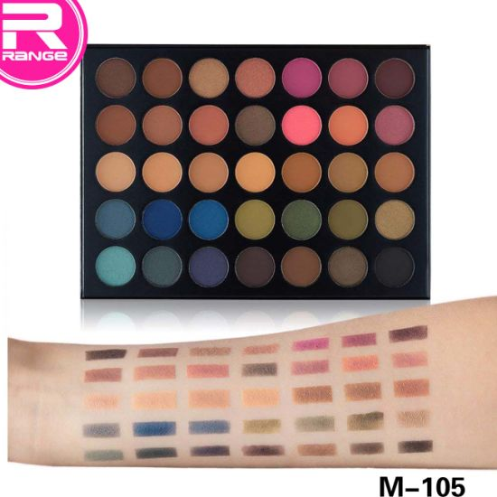 35 Color Eyeshadow Makeup Palette - Taupe Palette 35t pictures & photos