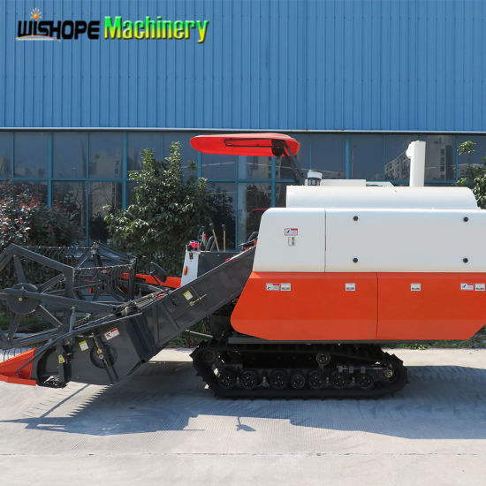 China 2018 Kubota Copy Wide Cutter Head Agricultural Combine
