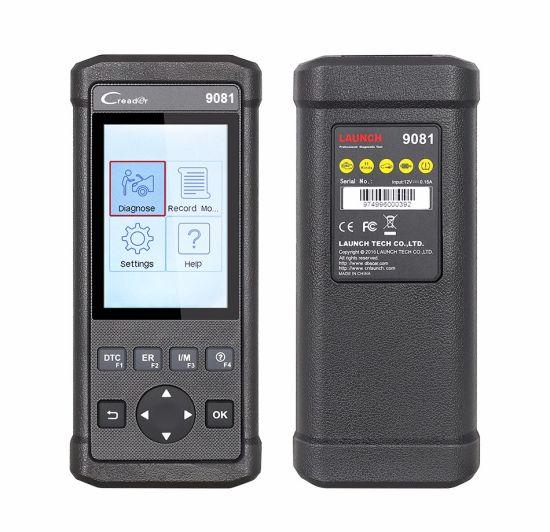 Launch DIY Scanner Creader 9081 Full OBD2 Scanner/Scan Tool Diagnostic OBD+ABS+SRS+Oil+Epb+BMS+Sas+DPF Cr9081