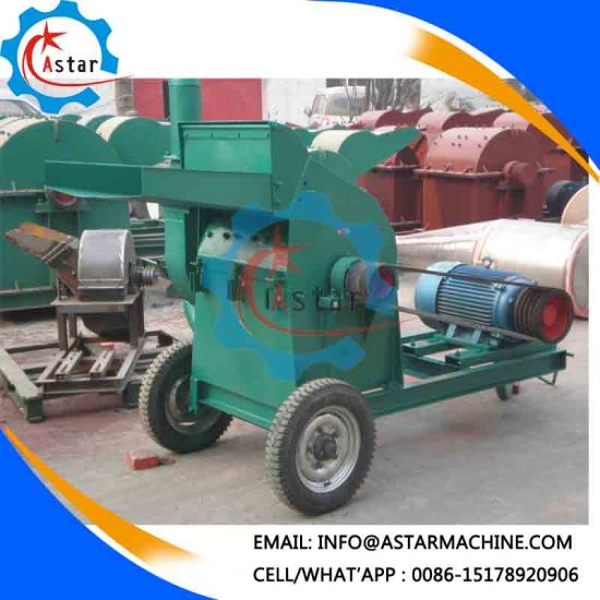 China Manufacture Widely Use Wood Log Crusher pictures & photos
