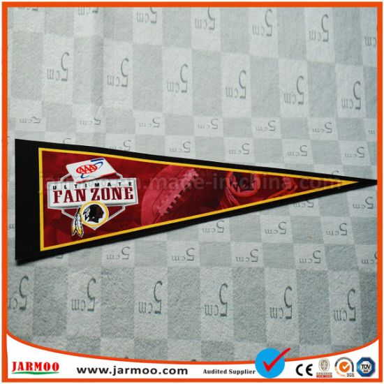 Custom Advertising Printed Flags Felt Pennant pictures & photos