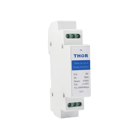 Network Signal SPD Ethernet Lightning Surge Arrester Network Surge Protector pictures & photos