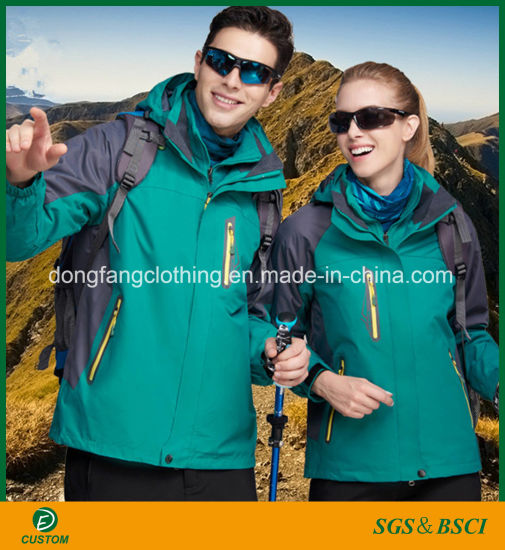 Hot Sale Outdoor Waterproof Fleece Jacket for Men and Women