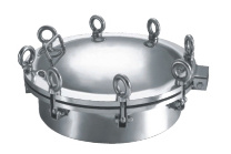 Stainless Steel Sanitary Oval Hatches High Pressure Manway Manhole Cover (CD-mc2883)