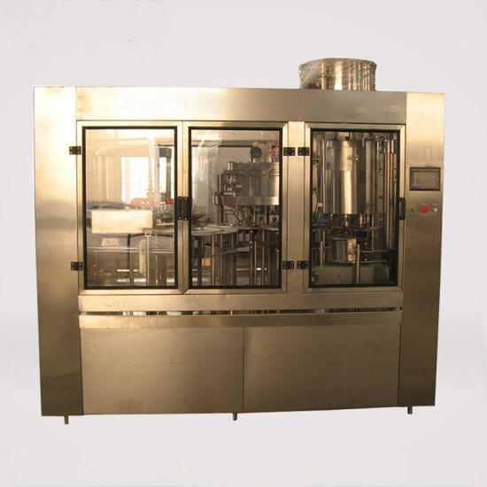 Best Price Soft Drinking Filling Bottle Machine with Compressed Air Driven pictures & photos