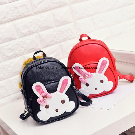 d47c4b323e35 Shopping Website Pink Rabbit Mini PU Children Girl Designer Backpack Bags