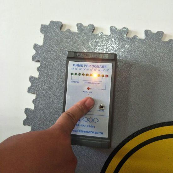 China Esd Pvc Interlocking Floor Tiles Esd Tiles China Garage