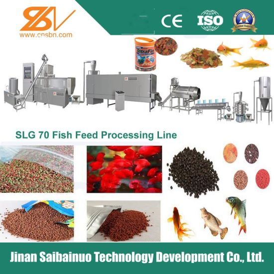 2016 Hot Sales Fish Feed Extruder Machine pictures & photos