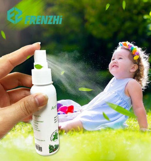 60ml Deet Free Eco-Friendly Herbal Scent Mosquito Repellent Spray