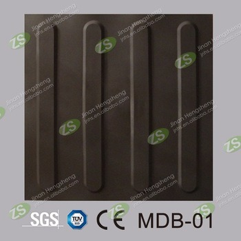 Rubber Tile Indicator Paving PVC and TPU Tactile Tile pictures & photos